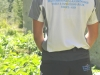 LAKPA Hiking & Climbing Pants Back Dark Grey