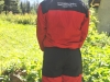 PASANG Insulated Jacket & Pants Combo Back Red/Black